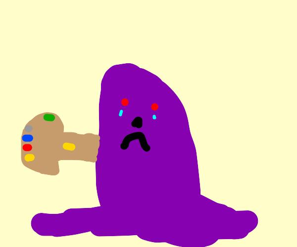 sad thanos blob