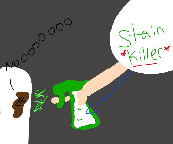 stain dies