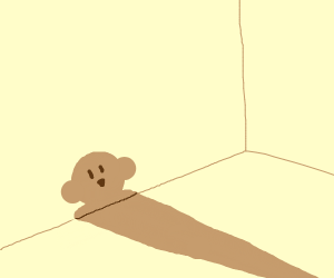 My shadow is kirby