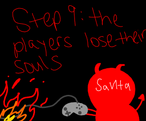 Step 8 : Satan has joined the game