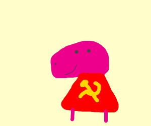 Peppa pig is a Communist idol