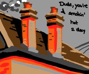 flirtatious chimney