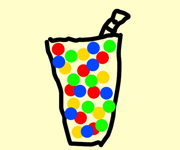 M&m milkshake