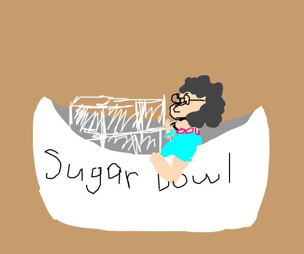Grandma in a Bowl
