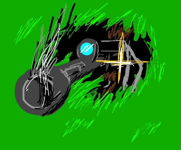 Solid Snake behunr