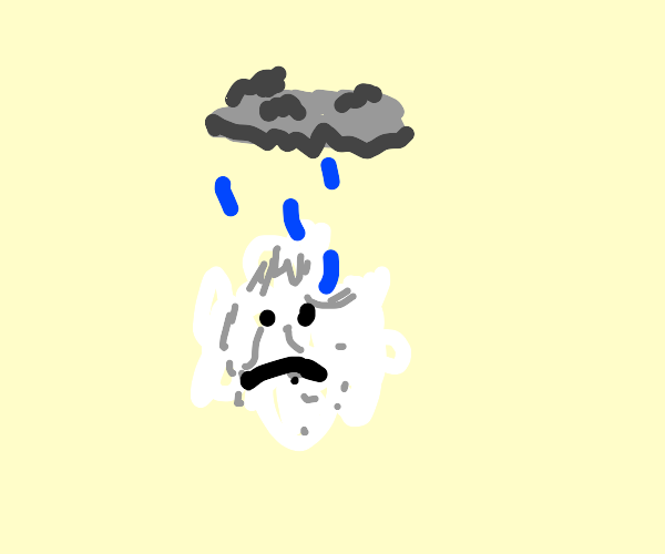 Depressed cotton ball