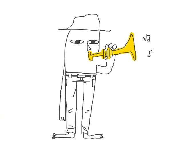 The trumpet go doot doot