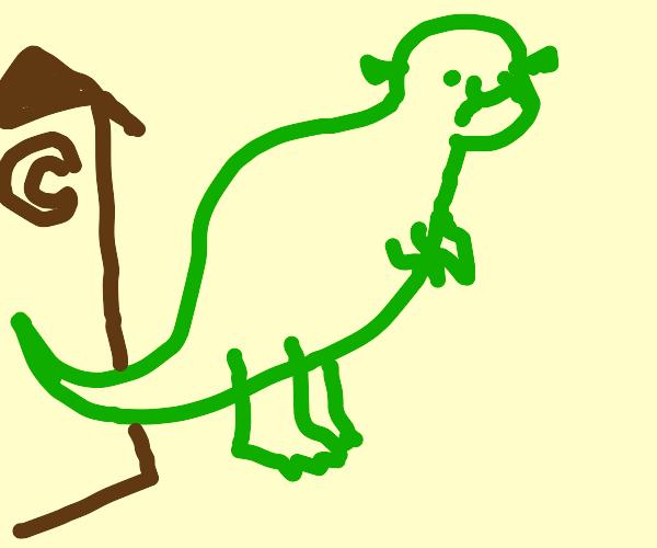 Dinosaur Shrek