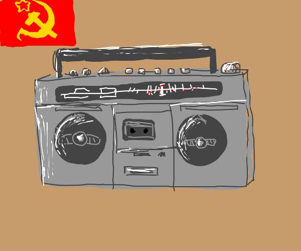 Communist Boombox