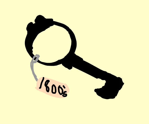 Key from the 1800s