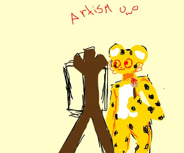 Artistic Jaguar
