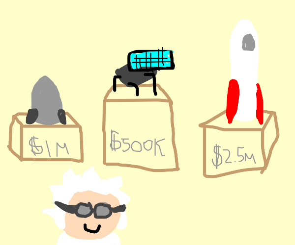 Rocket Scientist Shopping