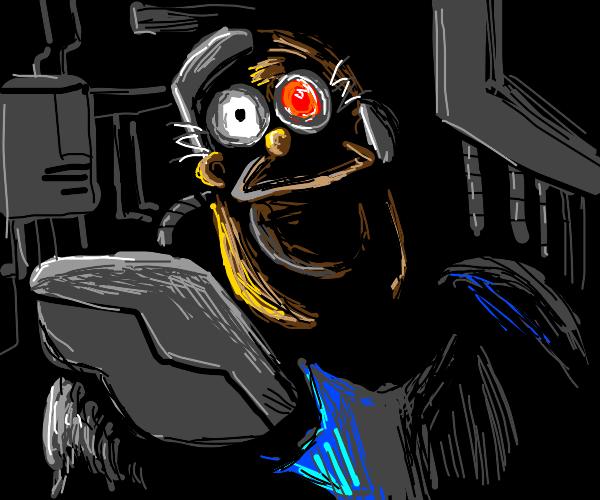 Cyborg Homer