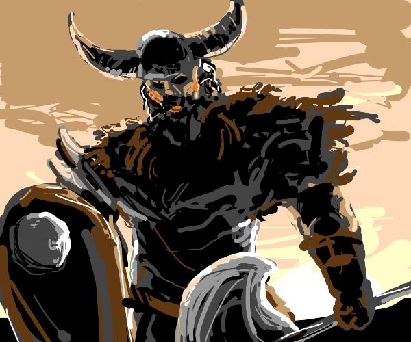 Mighty Viking warrior