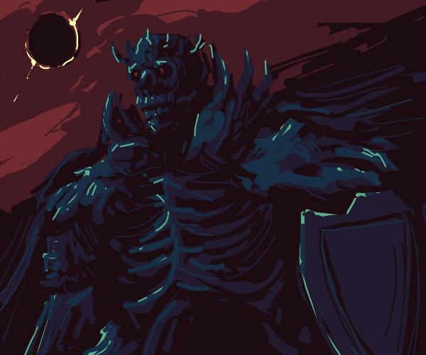 Lich King under a black sun