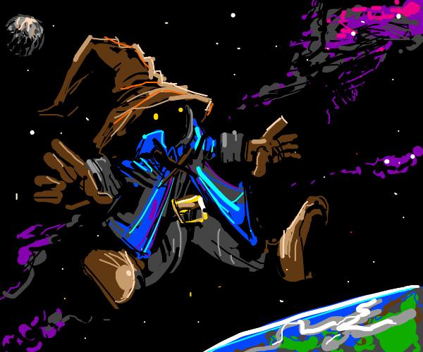 Vivi in space