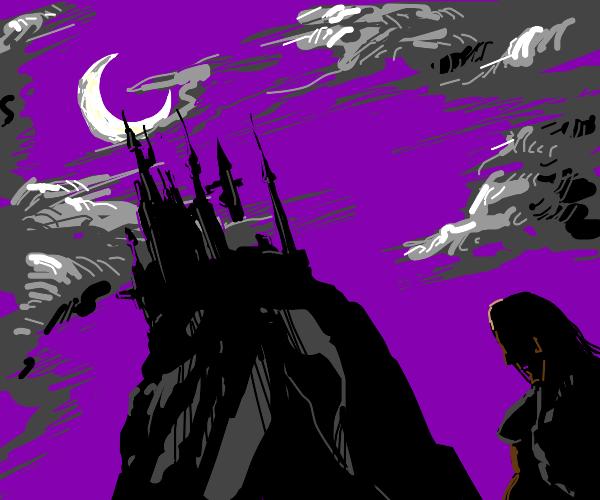 Supervillain castle