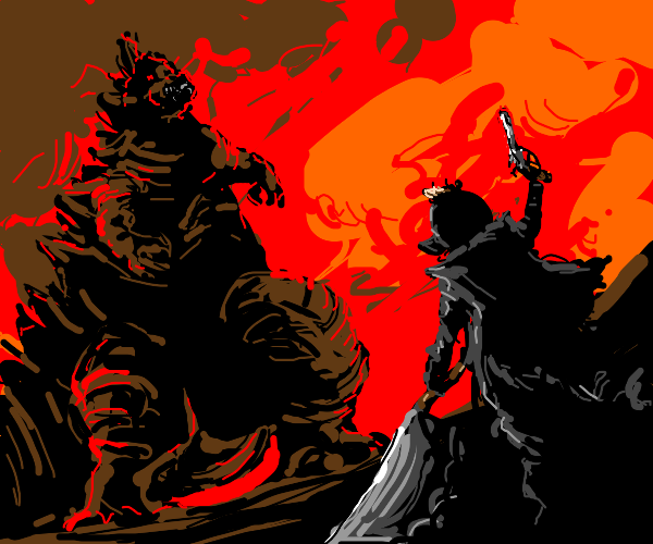 Godzilla Vs Pringle Man