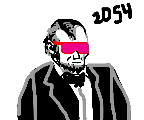 Futuristic abe Lincoln