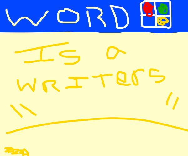 Writer Programming
