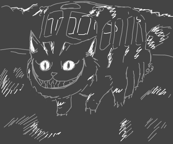 Cheshire Cat bus