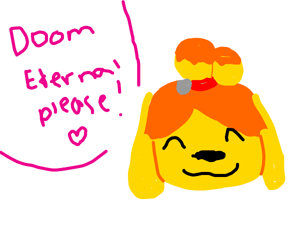 Isabell wants to buy a copy of DOOM eternal