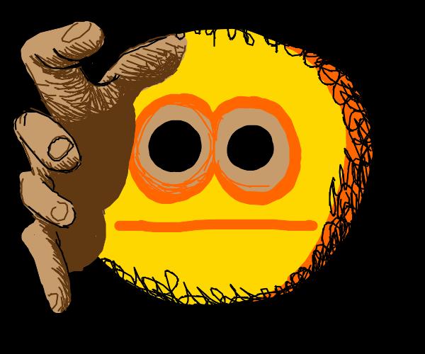Demonic emoji wants you