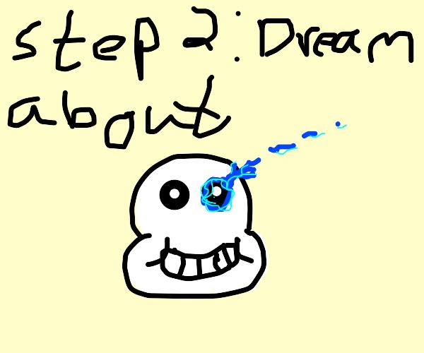 Step one: cry yourself to sleep