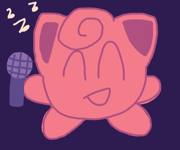 Jigglypuff singing