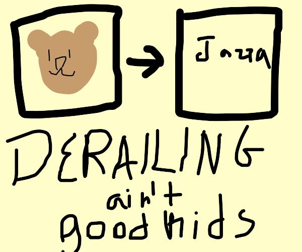 Derailing on Drawception