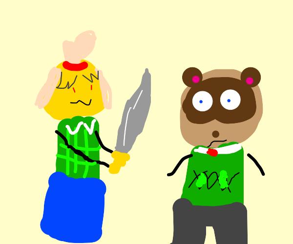 isabelle kills tom nook