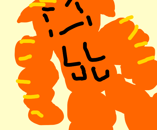 Buff Garfield is gonna kill Jon