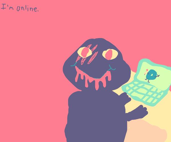 Barney is online