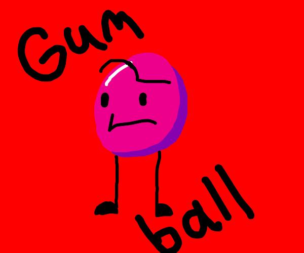 Cartoon Network (Literal) Gumball