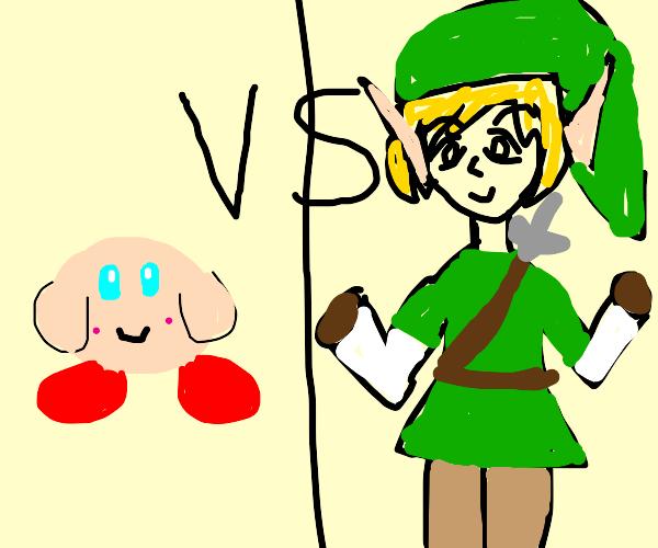 kirby vs link