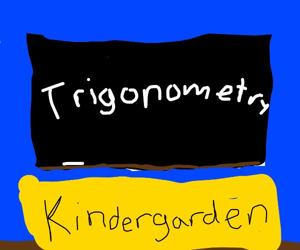 Teaching kindergardeners trigonometry