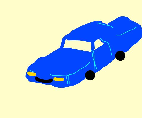 Happy racecar