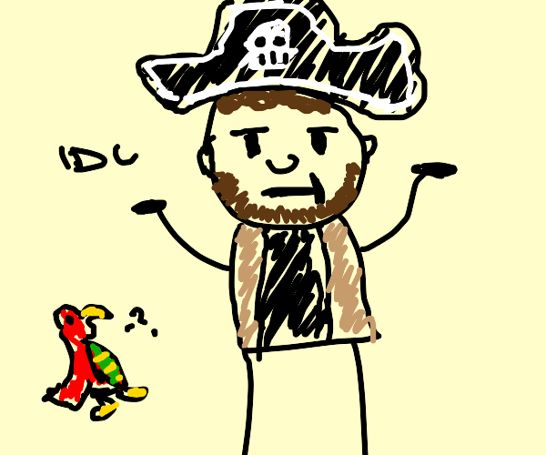 pirate don't give a f