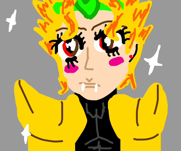 Dio is lookin FAB-U-LOUS