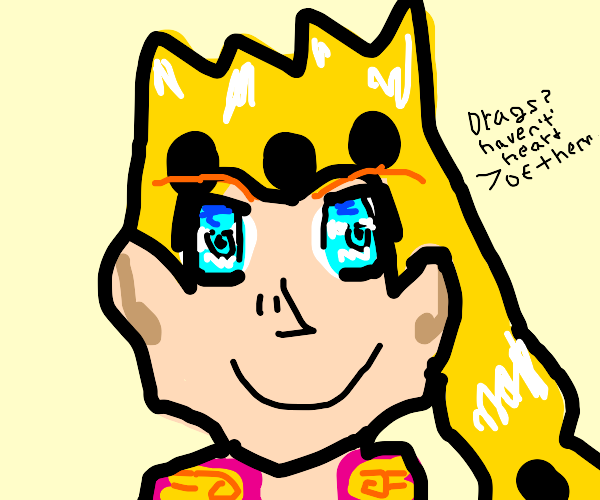 Giorno is drug free