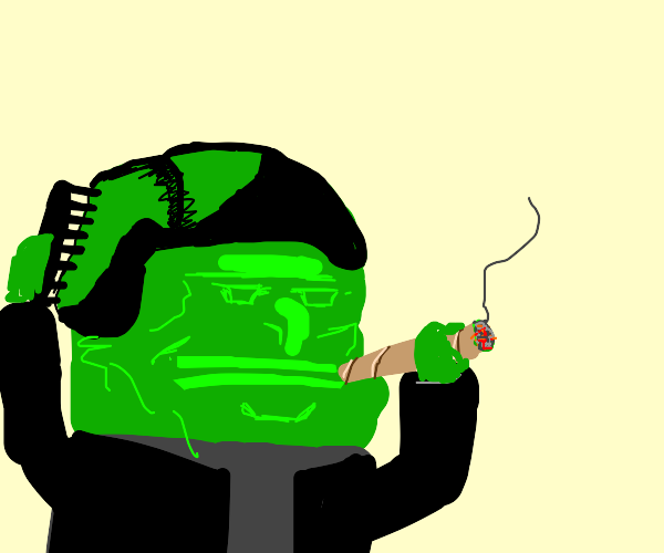 pepe becomes a weed addict