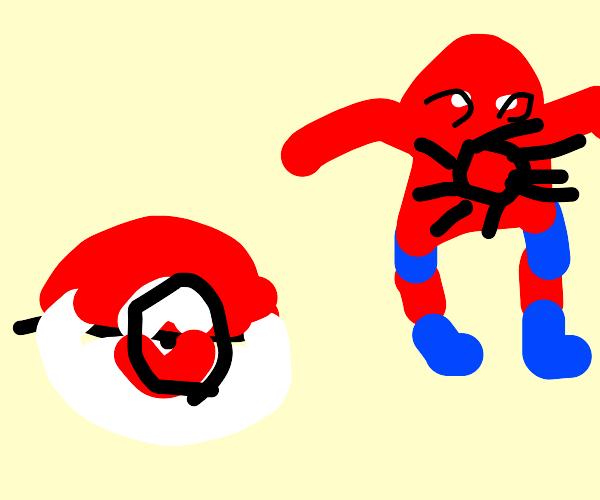 something pokemon related? also spiderman?