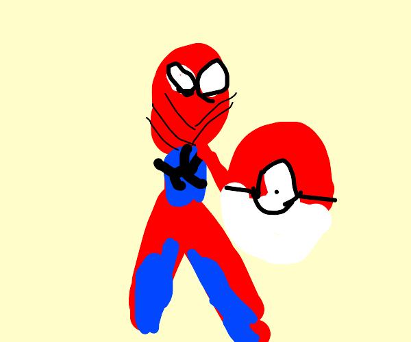 spiderman pokemon trainer