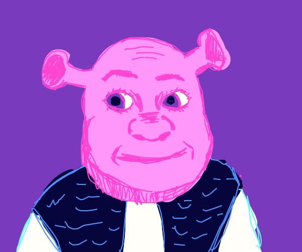 Alien pink Shrek