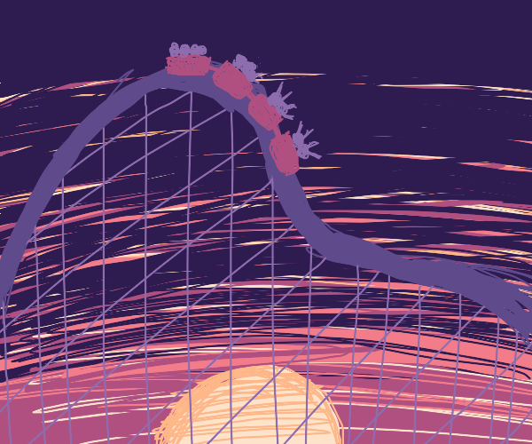 Sunset Roller Coaster