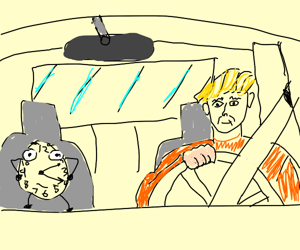 Driving with a Clock