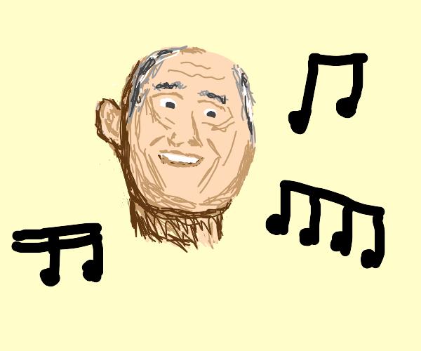 Grandpa's music.