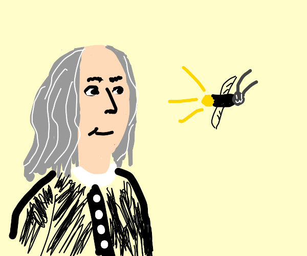 Franklin sees a firefly