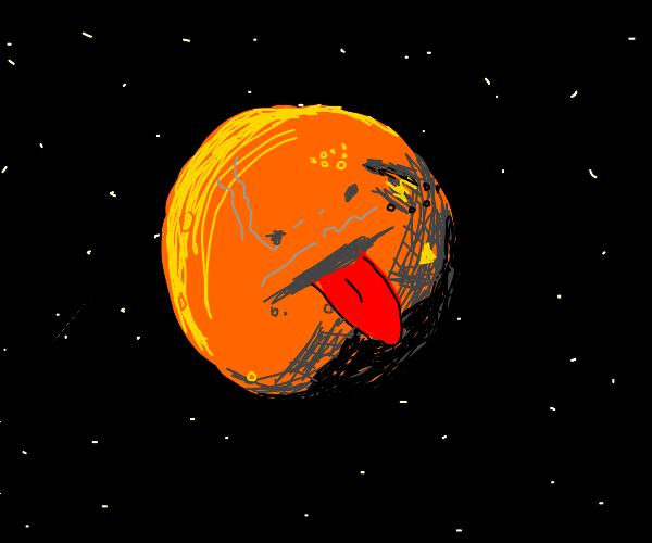 Tongue on Mars