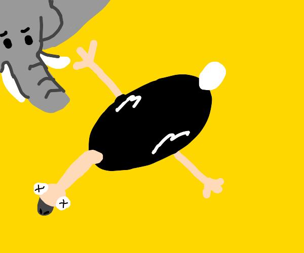 Flat Ostrich